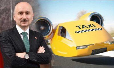 Ulaştırma ve Altyapı Bakanı Karaismailoğlu: 10 yıl içinde uçan taksileri göklerde görmeye alışacağız
