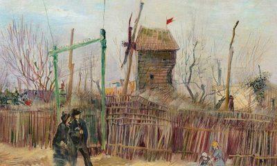 Van Gogh'un 'Montmartre'deki Sokak Manzarası' eseri 13 milyon 91 bin euroya alıcı buldu