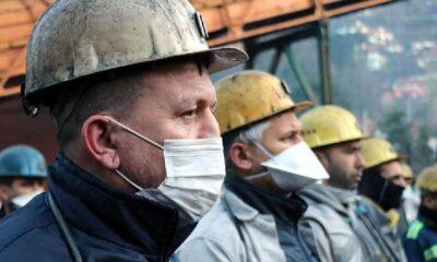 Zonguldak'ta hayatını kaybeden 263 madenci anıldı