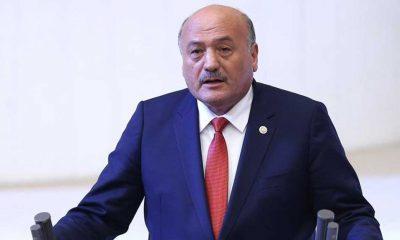 AKP'li vekil, koronavirüs geçirip hastanede tedavi gören müftüyü ziyaret etti
