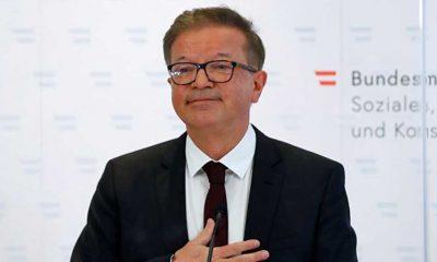 Avusturya Sağlık Bakanı Rudolf Anschober istifa etti