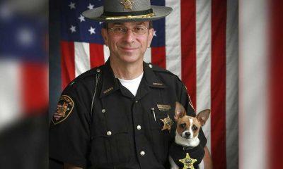 Aynı gün ölen şerif ve iş arkadaşı rekortmen polis köpeği birlikte gömülecek