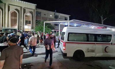 Bağdat'taki pandemi hastanesinde yangın: 82 kişi hayatını kaybetti