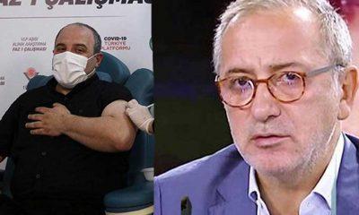 Bakan Varank'tan Fatih Altaylı'ya aşı yanıtı