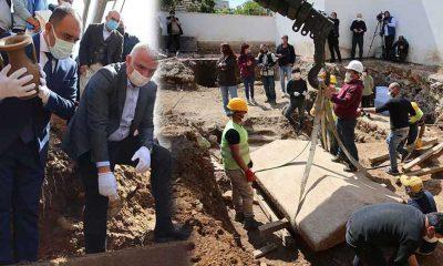 Bodrum'da bulunan 2400 yıllık lahit mezar açıldı