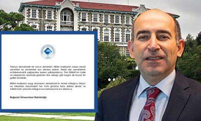 Boğaziçi Üniversitesi Rektörlüğü: 'Milli iradenin yanındayız