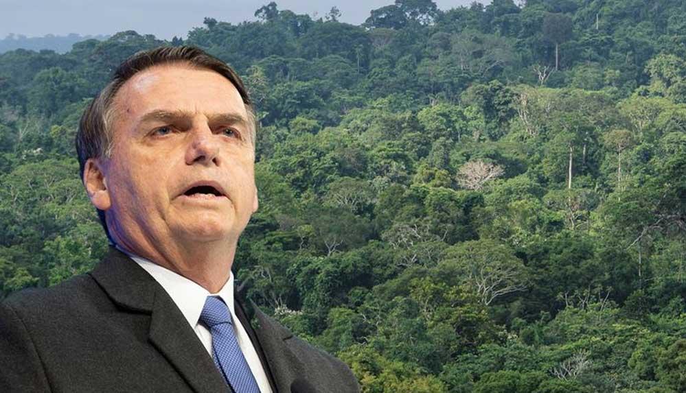 Brezilya Devlet Başkanı Bolsonaro'dan 2030'a kadar yasa dışı ormansızlaşmayı bitirme sözü