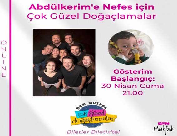 Çok Güzel Hareketler 2 ekibi SMA hastası Abdülkerim bebek için sahnede!