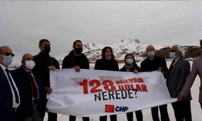 CHP'liler 128 milyar doları Erciyes Dağı'nda aradılar