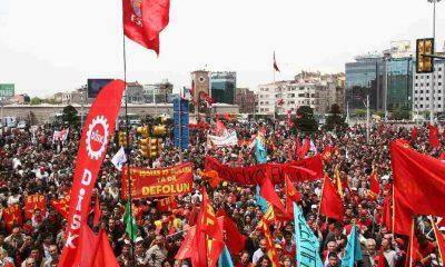 DİSK, KESK, TMMOB ve TTB'den 1 Mayıs çağrısı: Hukuk dışı engellemelere kalkışmayın!