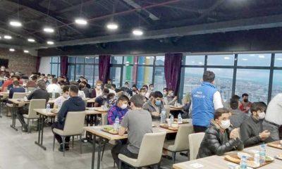 Türk Diyanet Vakfı'ndan yasağa rağmen 200 kişilik toplu iftar