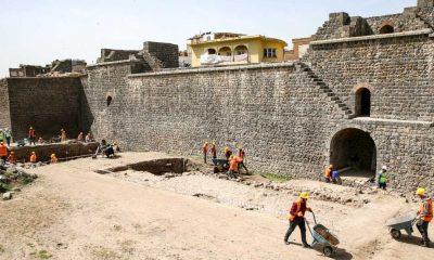 Diyarbakır'da yaklaşık 2 bin yıllık Roma yolu gün yüzüne çıkartılacak