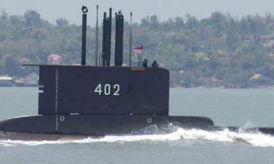 Endonezya duyurdu: Denizaltı ve mürettebat kayboldu