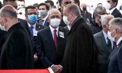 Erdoğan, Kılıçdaroğlu'na selam vermedi