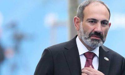 """Ermenistan Başbakanı Paşinyan'dan """"Bugün başbakanlık görevimden istifa ediyorum"""" açıklaması"""