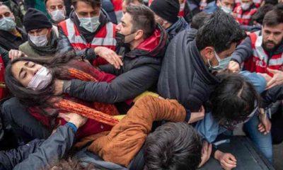 İsmail Saymaz: Kadıköy'de sanki iç düşman ayaklanması bastırılır gibi, üniversitelilere korkunç bir şiddetle müdahale edildi