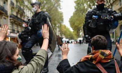 Fransa'da, protestolara neden olan genel güvenlik yasa tasarısı kabul edildi