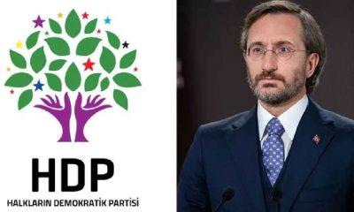 HDP ve Fahrettin Altun arasında Ermeni Soykırımı tartışması: Utanç vesikası size ait