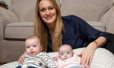 Hamileyken hamile kaldı, aynı anda iki bebek doğurdu