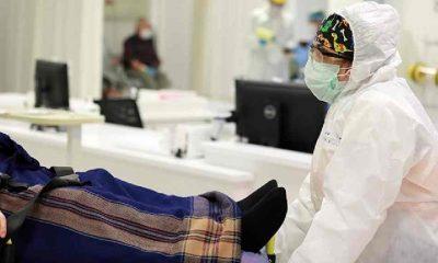 Hastanede iki kez yataktan düşen Covid-19 hastası hayatını kaybetti