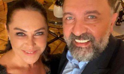 Hülya Avşar, partnerinin çenesini çıkardı!