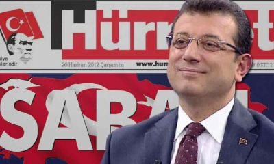 Hürriyet ve Sabah gazetesi İmamoğlu'nu sansürledi