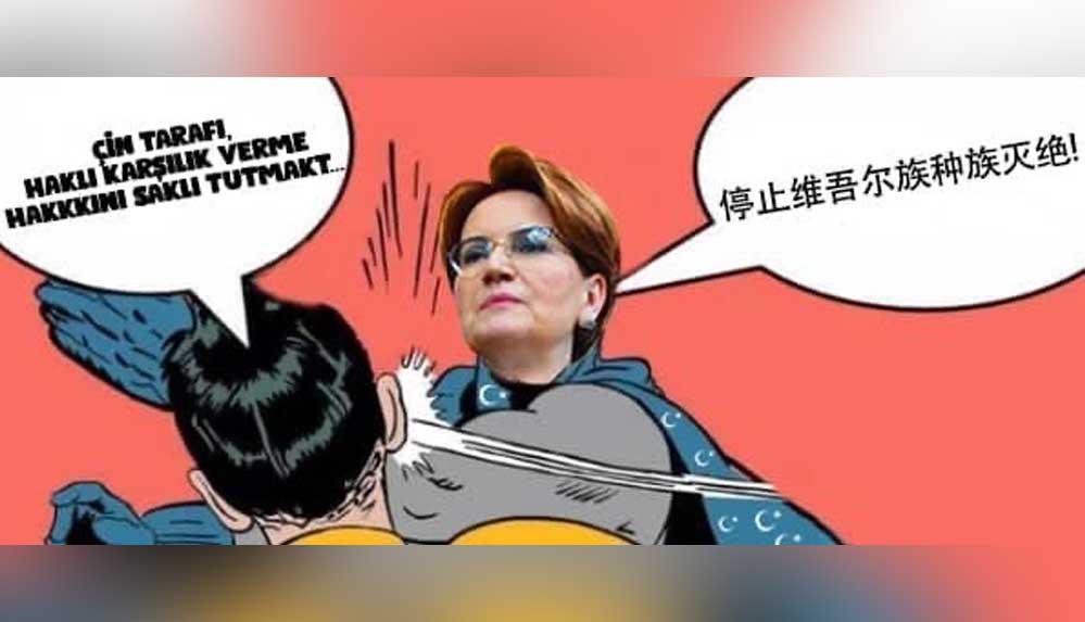 İYİ Parti'den Çin Büyükelçiliğine yanıt: Boş konuşmayı bırakın, siz önce Uygur'lara yaptığınız soykırımı durdurun