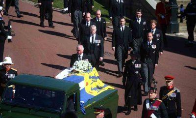 İngiltere, Prens Philip'i son yolculuğuna uğurluyor