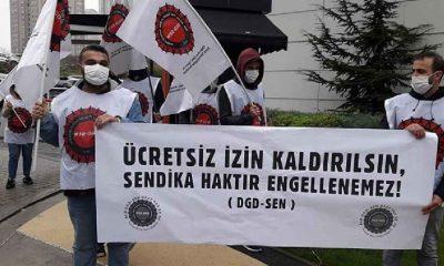 İşçilerin 'ücretsiz izin kaldırılsın' isyanı