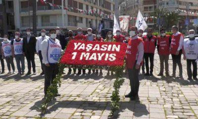 İzmir'den tam kapanmada 1 Mayıs kutlaması