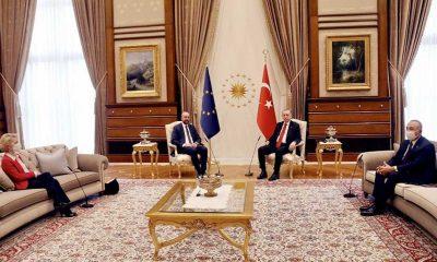 Kanepe-gate Yalan Rüzgarı'na döndü: AB Türkiye Delegasyonu AB Konseyi Başkanı'nın ekibini, onlar da Ankara'yı suçladı