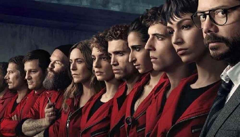 Netflix dizisi La Casa de Papel'in final sezonundan fragman