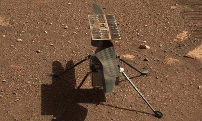 Mars'tan ilk renkli fotoğraf geldi