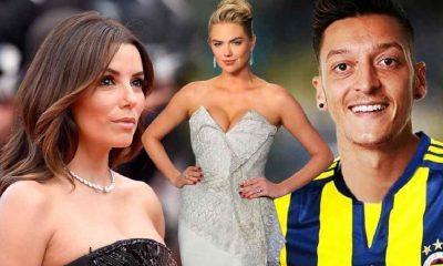 Mesut Özil, Eva Longoria ve Kate Upton'la ortak olacak