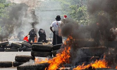 Myanmar'da güvenlik güçlerinin silahlı müdahalesi sonucu ölen sivillerin sayısı 714'e çıktı