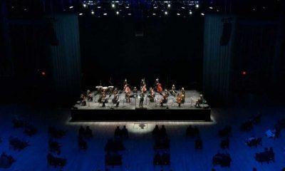 New York Filarmoni Orkestrası 400 gün sonra yeniden sahnede