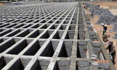 Ölümlerin arttığı Tahran'da dört katlı mezarlık inşa ediliyor