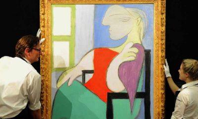 Picasso'nun sevgilisinden ilham aldığı tablosu 450 milyon TL'den açık artırmaya çıkıyor