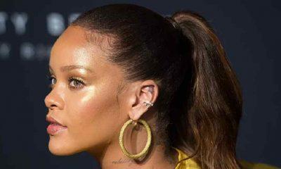 Rihanna, ırkçılığa karşı düzenlenen protestoya katıldı