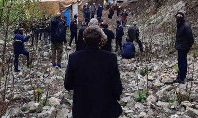 Rize İyidere'de taş ocağına izin, köylülere jandarma müdahalesi