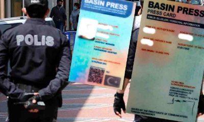 Sahte basın kartı düzenleyip, kısıtlamaları deldiler