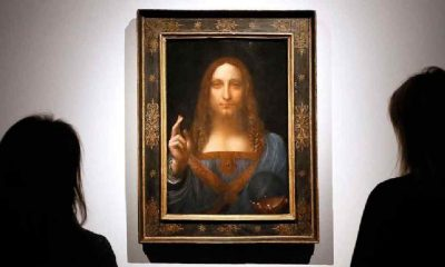 Salvator Mundi'nin tamamen Leonardo da Vinci'ye ait olmadığı ortaya çıktı