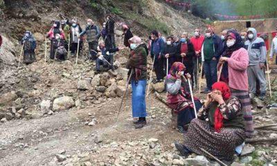 Tarkan'dan Rize İşkencedere'deki köylülerin nöbetine destek: Acılı feryadınızı duyuyorum