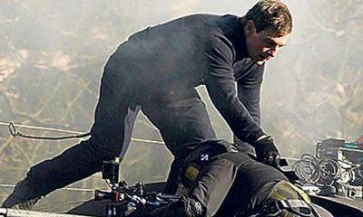 Tom Cruise, Görevimiz Tehlike 7'nin çekimlerinde dengesini kaybeden kameramanı ipten aldı