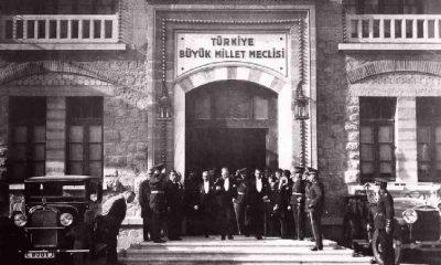 Türkiye Büyük Millet Meclisi de 101. yaşını kutluyor