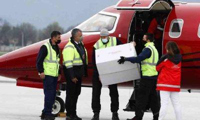 Türkiye'nin hibe ettiği 10 bin doz Sinovac aşısı Bosna Hersek'e ulaştı