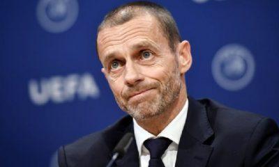UEFA Başkanı Ceferin: Milli takımlarında oynamalarına izin verilmeyecek
