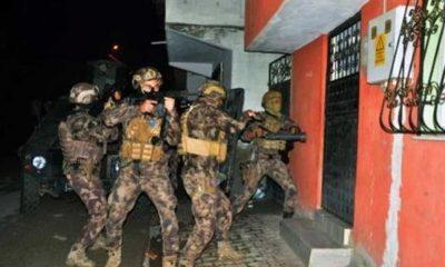 Adana'da drone destekli PKK/KCK operasyonu: 8 gözaltı
