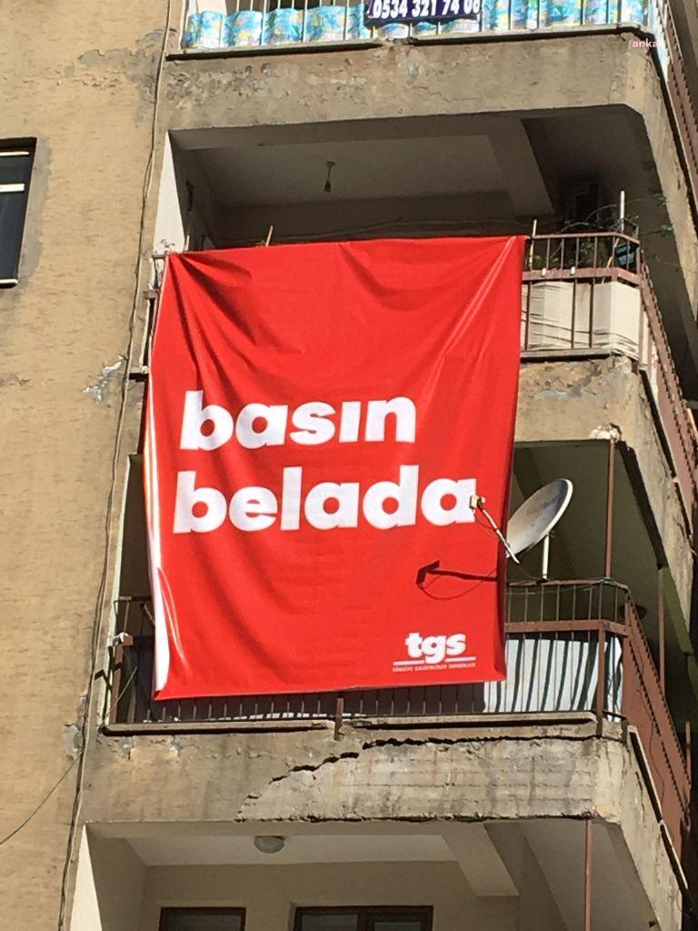 """Tgs'den """"Basın Belada!"""" kampanyası"""