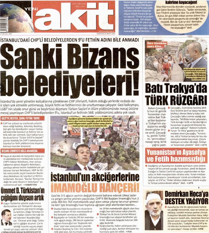 Gerici Akit'ten Atatürk'e lanet okuyan imama destek!